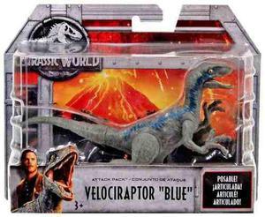 Dinosaurio Jurassic World Velociraptor Blue Nuevo Oferta!