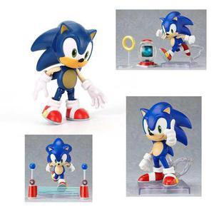 Figura De Acción De Sonic El Erizo Nueva En Caja 9cm