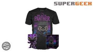 Funko Black Panther Tee Y Pop Playera Grande Target Glow (1)