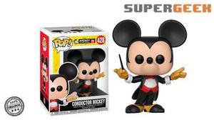 Funko Pop Disney - Mickey Mouse Conductor Orquesta (1)