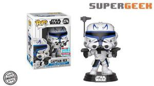 Funko Pop - Star Wars Captain Rex Fall Nycc Detalle (1