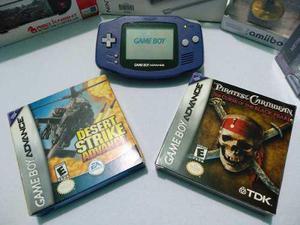Game Boy Advance Con Dos Juegos Originales Completos