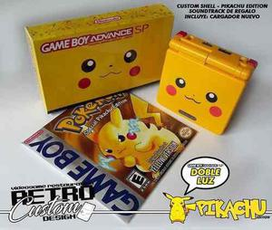 Game Boy Advance Sp Edicion Pikachu Doble Luz