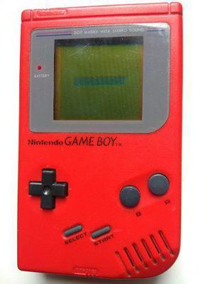 Game Boy Tabique Rojo Nintendo