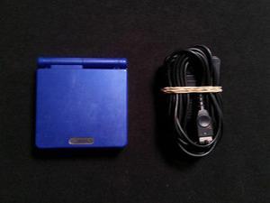 Gameboy Advance Sp Azul 101