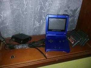 Gameboy Advance Sp Con 6 Juegos.