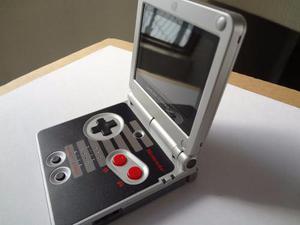 Gameboy Advance Sp Reacondicionado Nes Mica Cristal