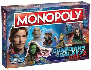 Guardians Of The Galaxy Volume 2 Monopoly (ingles)
