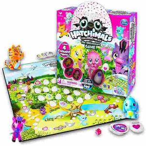 Hatchimals Colleggtibles Juego De Mesa Con 4 Figuras Exclus