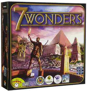 Juego De Mesa 7 Wonders - Asmodee