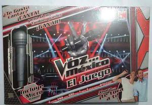 Juego De Mesa La Voz Mexico Original Y Con No. De Serie