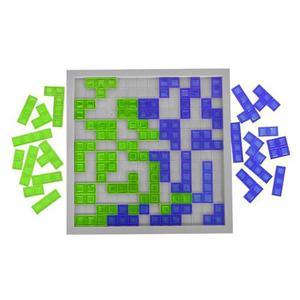 Juego De Mesa Tipo Tetris Cuadrablock Plastico