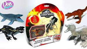 Jurassic World Super Pack 15 Minidinos Battle Damage Oferta