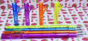 Kit De 12 Plumas Flauta Mágica Realmente Suenan!!:)