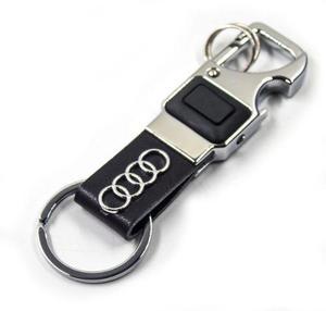 Llavero Audi Destapador Led A1 A3 A4 S3 S6 Rs Q3 Q7 Tt