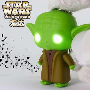 Llavero Maestro Yoda Con Luz Y Sonido
