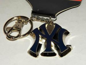 Llavero Metalico Logo New York Yankees