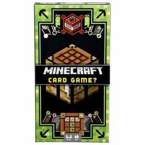 Minecraft Juego De Cartas Mattel Djy41