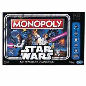 Monopoly Star Wars 40th Anniversary Special Edition (nuevo)