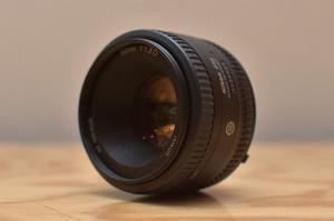 Nikon Af Nikkor 50mm F/ 1.8 d