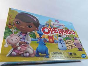Operando Doctora Juguetes, Juego De Mesa Disney. Hasbro
