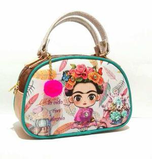Paquete De 5 Bolsas De Frida Con Llavero Envio Gratis