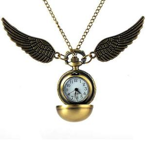Reloj De Bolsillo Snitch Harry Potter Pocket Watch + Bolsita