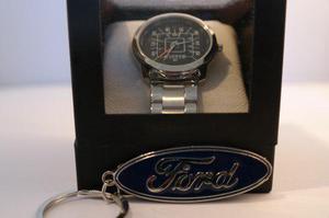 Reloj Edicion Especial Ford 1979 Con Caja Y Llavero