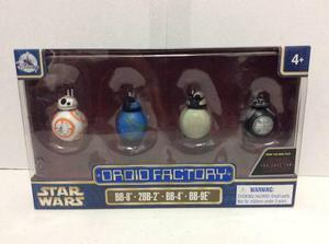 Star Wars Droid Factory De Disney Parks Battle Pack 4 Excl.