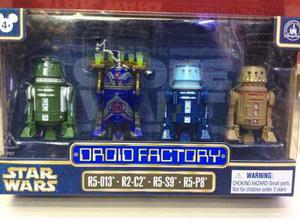 Star Wars Droid Factory De Disney Parks Battle Pack 4 P.