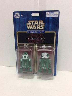 Star Wars Droid Factory De Disney Parks R4-x2 Y5-x2