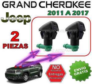 11-17 Jeep Grand Cherokee Chisgueteros Limpiabrisas 2 Piezas