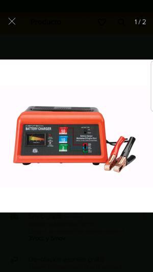 Cargador 10 amperes 12 volts