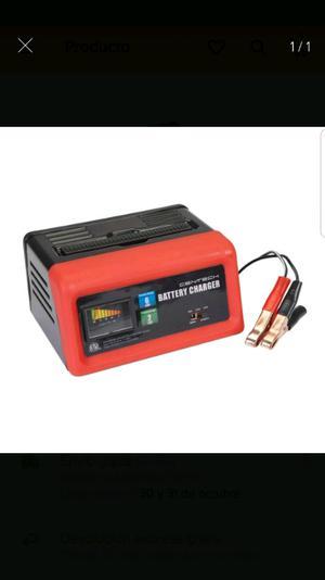 Cargador de 6 amperes para 6 y 12 volts.