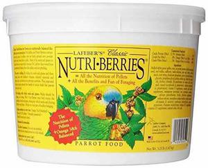 Lafeber X26 39 S Clasico Nutri-berries Parrot Food 3.25 Lb