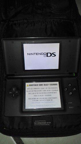 Nintendo Ds Lite Con Detalles Y El Juego De Shreck