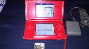 Nintendo Ds Lite Edicion Mario Bros Con Juego Y Cargador