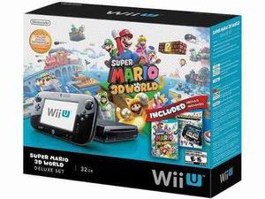 Nintendo Wii U, Con 4 Juegos (fotos) Y 2 Controles Blancos