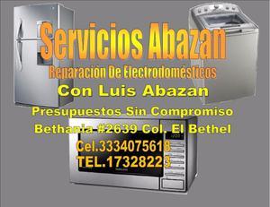 SERVICIOS DE REPARACION DE ELECTRODOMESTICOS ABAZAN