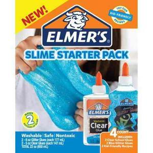 Slime Starter Pack Elmers Azul