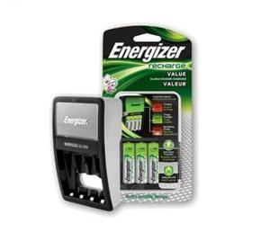 2 Baterias Cragador Energizer Pilas Aa/aaa Xtr P