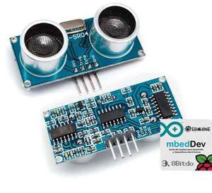 5 Pza Sensor Ultrasónico Hc-sr04 Para Arduino Envio