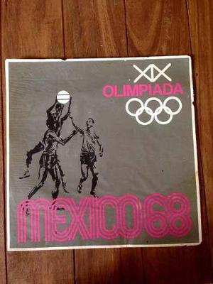 Afiche Vintage Cartel Olimpiadas México 68 Basquetbol