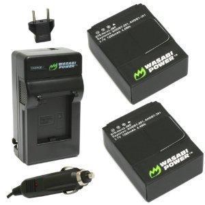 Batería Wasabi Potencia (2-pack) Y Nuevo Cargador Para