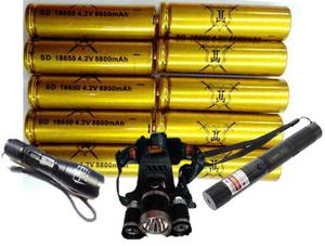 Bateria Recargable Ljk Pack 10 Unidades Mod 18650 A 8800 Ah
