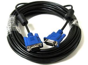 Cable Vga A Vga Macho A Macho 15 Metros Laptop Pc Proyector