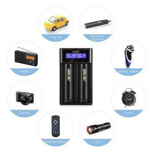 Cargador Batería Golisi I2 Para Li - Ion Recargable / Nihm