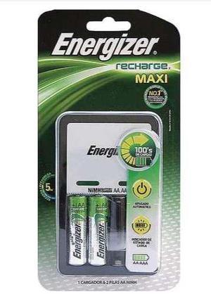 Cargador Energizer 2 Baterias Aa/aaa Pilas Recargables Xtr C