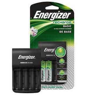 Cargador Energizer Baterias Aa/aaa 2 Pilas Recargables Xtrep