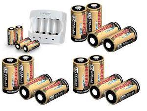 Cargador Y 16 Baterias 3.7v De 650 Mah - Blakhelmet Sp